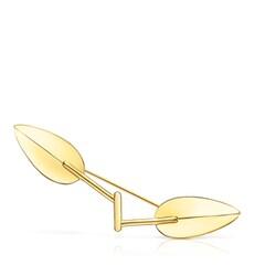 Tous Fragile Nature - Broszka z żółtego srebra Vermeil