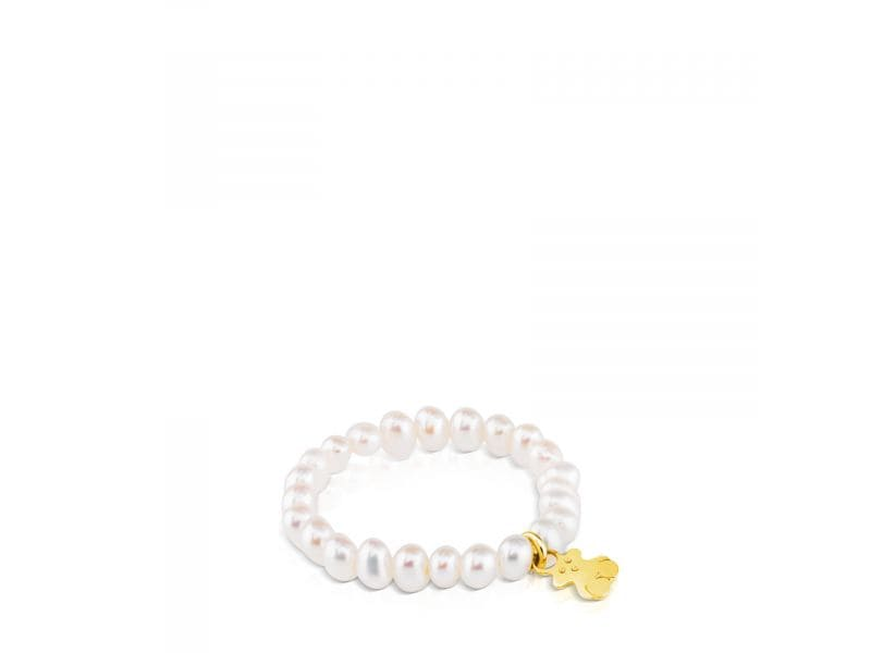 Pierścionek Tous Pearls Gold
